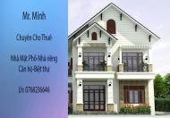 Cho thuê nhà mặt ngõ to Văn Cao, 300 m2, MT 14m