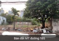 Đất Kinh Danh Mặt Tiền Đường 185 Dương Đình Hội, Gần Chợ 339, Phước Long B, Quận 9