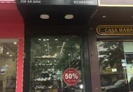 Chính chủ cho thuê cửa hàng tại mặt phố XÃ ĐÀN, Đống Đa, Hà Nội