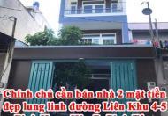 Chính chủ cần bán nhà 2 mặt tiền đẹp lung linh đường Liên Khu 4-5 Bình Hưng Hòa B, Bình Tân