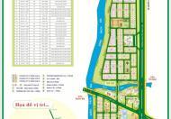 Cần bán đất KDC Ven Sông Sadeco, Tân Phong, Q7 dãy C đường NVL 126m2 giá 110tr/m2, Lh: 0909289956