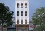 Mặt phố Lạc Long Quân: 92m2 xây 8 tầng, mặt tiền 5.8m, mới xây.