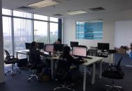 Cho thuê văn phòng ở mặt đường Chùa Láng giá 18 triệu