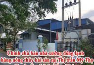 Chính chủ bán nhà xưởng đông lạnh hàng nông thủy hải sản tại Thị trấn Mỹ Thọ, Huyện Cao Lãnh, Đồng