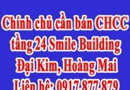 Chính chủ cần bán CHCC tầng 24 Smile Building, Đại Kim, Hoàng Mai