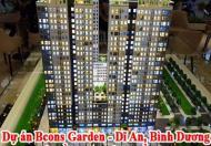 Nhận giữ chỗ căn hộ Bcons Garden - Dĩ An, Bình Dương -Chỉ thanh toán 10%- Cơ hội đầu tư không thể