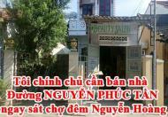 Tôi chính chủ cần bán nhà đường NGUYỄN PHÚC TẦN ,ngay sát chợ đêm Nguyễn Hoàng, Hội AN