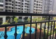 Cho thuê căn hộ 1 phòng ngủ Park Hill - Times City, tòa Park 3 , tầng thấp, view hồ bơi
