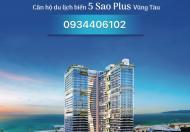 Căn hộ du lịch 5sao tại bãi sau Thùy vân vũng tàu địa chỉ 28 thi sách giá chỉ 1,6 tỷ/ căn.