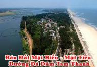 Bán Đất Mặt Biển - Mặt Tiền Đường Đá Dăm Tam Thanh - Tp. Tam Kỳ - Quảng Nam