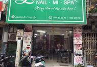 Cần sang nhượng salon tóc tại 4D nguyễn thái học ,Ba Đình