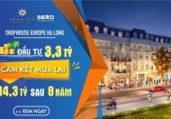 Shop House Europe - Vị trí vàng của làng đầu tư - Đẹp đẳng cấp nhất Hạ Long