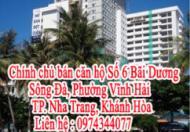 Chính chủ cần bán căn hộ Số 6 Bãi Dương – Sông Đà, Phường Vĩnh Hải, TP. Nha Trang, Khánh Hòa