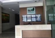 Cho thuê văn phòng phố Duy Tân, quận Cầu Giấy – Tòa TTC Tower, diện tích 75m2.