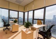 Văn phòng trọn gói quận Cầu Giấy, chi phí thuê 1 vị trí, làm việc mọi vị trí, DT từ 10- 15m2.