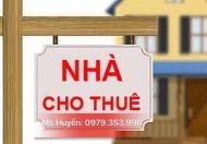 Cho thuê nhà mặt tiền 3 tầng Hồ Xuân Hương, Đà Nẵng