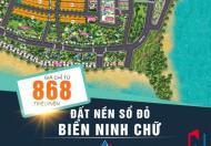 CƠN SỐT ĐẤT NỀN SỔ ĐỎ GIÁP BIỂN PHAN RANG - KDC MỸ TƯỜNG - CHỈ TỪ 868TR/LÔ