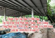 Chính Chủ Cần Bán Lô Đất Đẹp Tại Xã Vĩnh Hoà Phú, Châu Thành, Kiên Giang