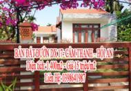 BÁN ĐẤT ĐƯỜN DX 17- CẨM THANH - HỘI AN