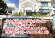 Chính chủ cần cho thuê nhà tại Cẩm Châu - Hội An – Quảng Nam