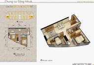 Bán gấp trong tuần căn góc 2PN tòa Sông Nhuệ chỉ 750 triệu!