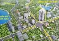 Tôi cần bán gấp suất ngoại giao căn góc 12 tầng đẹp, full NT, gần công viên Cầu Giấy. LH 0968595078