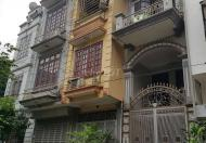 Cho thuê nhà ngõ oto tại Vũ Hữu, 40m2 x 4 tầng