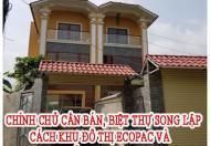Chính chủ cần bán, Biệt thự song lập cách khu đô thị Ecopac và khu đô thị Vincity 5km.