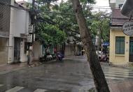 Bán nhà 1 mặt phố, 1 mặt hồ, Lạc Chính, Ba Đình, 166m2, mặt tiền 10,5m