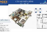 Chính chủ cần bán gấp căn hộ số 02, 55m2, dự án PCC1 Thanh Xuân