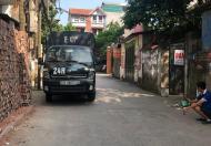 Tôi cần bán mảnh đất phường Ngọc Thụy 130m2X 5m, ô tô tải tránh nhau trước nhà