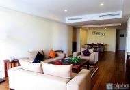 Cho thuê căn hộ dịch vụ 3 phòng ngủ hiện đại tại Pacific Place , giá 51tr/th, lh:0904481319