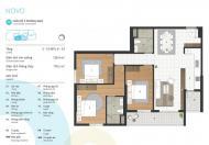 Lựa chọn ngay 05 căn góc 2 ban công đẳng cấp nhất tại tòa Novo dự án Kosmo Tây Hồ