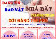 Hướng dẫn bán nhanh bất động sản tại Phan Rang Tháp Chàm, Ninh Thuận