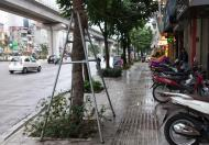 Bán đất mặt phố Nguyễn Trãi, 2 mặt thoáng, kinh doanh đỉnh, vỉa hè 8m, 62m2, giá 10,7 tỷ