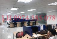 Cho thuê văn phòng hạng A 280m2 lô góc 3 mặt thoáng cực đẹp tại ngã tư Mỹ Đình.Lh 0974585078