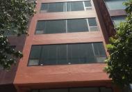 Cho thuê nhà Hoàng Quốc Việt 43m x 6T thang máy, thông sàn,ngõ ô tô tránh