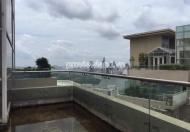 Bán Duplex Saigon Pearl 500m2 3 tầng nhà thô không NT view đẹp toàn cảnh TP