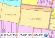 Đất Huyện Trảng Bom 12.640m2. Giá rẻ nhất khu vực chỉ 2tr4/m. Đầu tư hoặc làm dự án quá hời cho vị