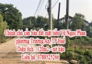 Chính chủ cần bán đất mặt tiền Vũ Ngọc Phan, phường Trường An, TP Huế