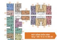 Bán cắt lỗ căn 2 ngủ B04 68m2 tầng 6 chung cư Bea Sky Nguyễn Xiển.