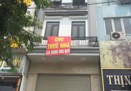 Cho thuê nhà Trần Bình 54m x 4T giá 22tr/th ngõ ô tô tránh