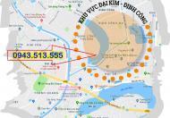 Bán đất NV 2.5 dự án KDTM Đại Kim Định Công, giá gốc 32 tr/m2-0943.513.555