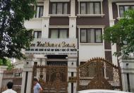 Cho thuê  BT nhà nhà vườn Nguyễn Huy Tưởng 170m x 4T, mt 12m