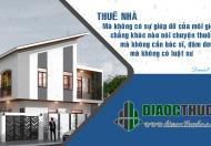 Cho thuê nhà mặt phố Tôn Đức Thắng, Mặt tiền 5.5m, Diện tích 100m2 x 4 tầng