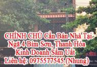 CHÍNH CHỦ Cần Bán Nhà Tại Ngã 4 Bỉm Sơn - Kinh Doanh Sầm Uất