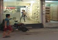 Sang nhượng toàn bộ cửa hàng giày dép tại mặt phố Định Công, Hoàng Mai, Hà Nội