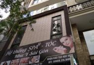 Cho thuê nhà mặt phố Giang Văn Minh 80m2, 4 tầng,mặt tiền 6m