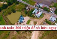 Bán Đất Phước Thuận, Xuyên Mộc, Bà Rịa Vũng Tàu chỉ TT 200 triệu. LH: 0938680663