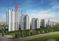 Bán gấp căn góc 104m2 chung cư Hồng Hà Eco City giá 1,8 tỷ, nhận nhà ở ngay, CK 5% LH 0942316335